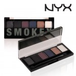 Обзор NYX The Smokey Shadow Palette