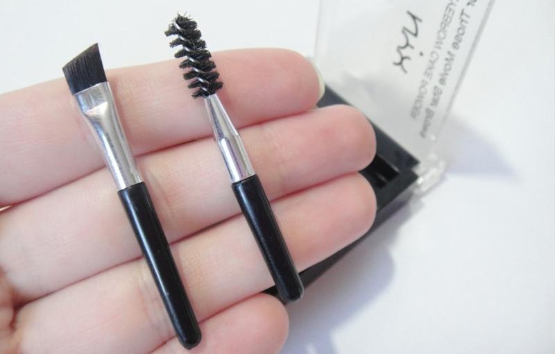 Обзор набора для бровей NYX Eyebrow Cake Powder: компактный набор для быстрого создания идеального макияжа бровей, Интернет-магазин, набор косметики
