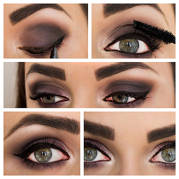 16 makeup for green eye