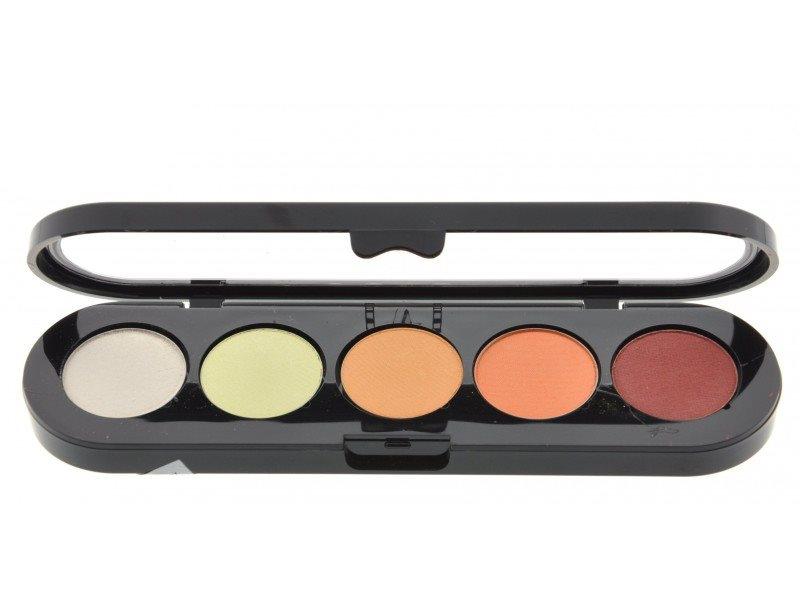 Т06. Тени палитра Make-up Atelier Paris 5 цв. желто-оранжевые тона (06)