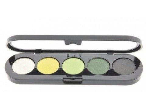 Т08. Тени палитра Make-up Atelier Paris 5 цв. золотисто-зеленые тона (08)