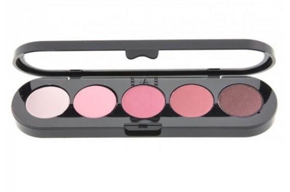 Т13. Тени палитра Make-up Atelier Paris 5 цв. розово-вишневые тона (13)