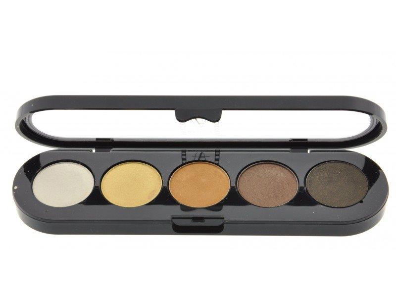Т14. Тени палитра Make-up Atelier Paris 5 цв. золотисто- оранжевые тона (14)