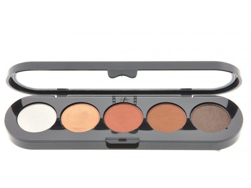 Т15. Тени палитра Make-up Atelier Paris 5 цв. золотисто-коричневые тона (15)