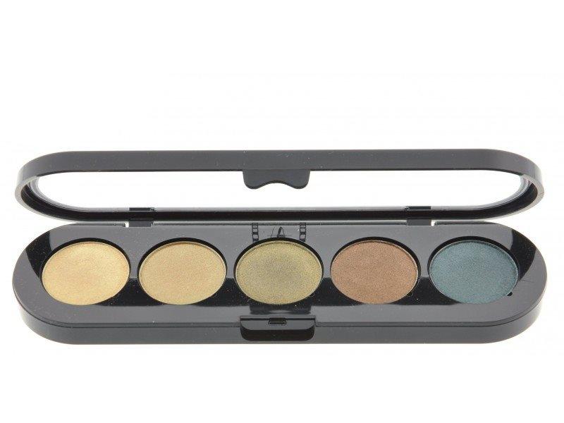 Т18. Тени палитра Make-up Atelier Paris 5 цв. амазонка атласные тона (18)