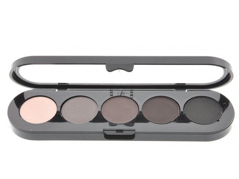 Т20. Тени палитра Make-up Atelier Paris 5 цв. тона серого цветного (20)