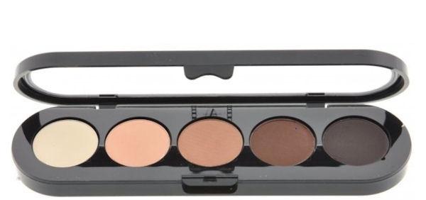 Т22. Тени палитра Make-up Atelier Paris 5 цв. натуральные коричневые тона (22)