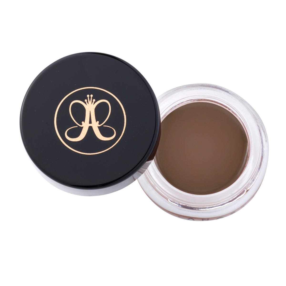 Водостойкая помада для бровей Anastasia Beverly Hills. DIPBROW® Pomade Color Medium Brown