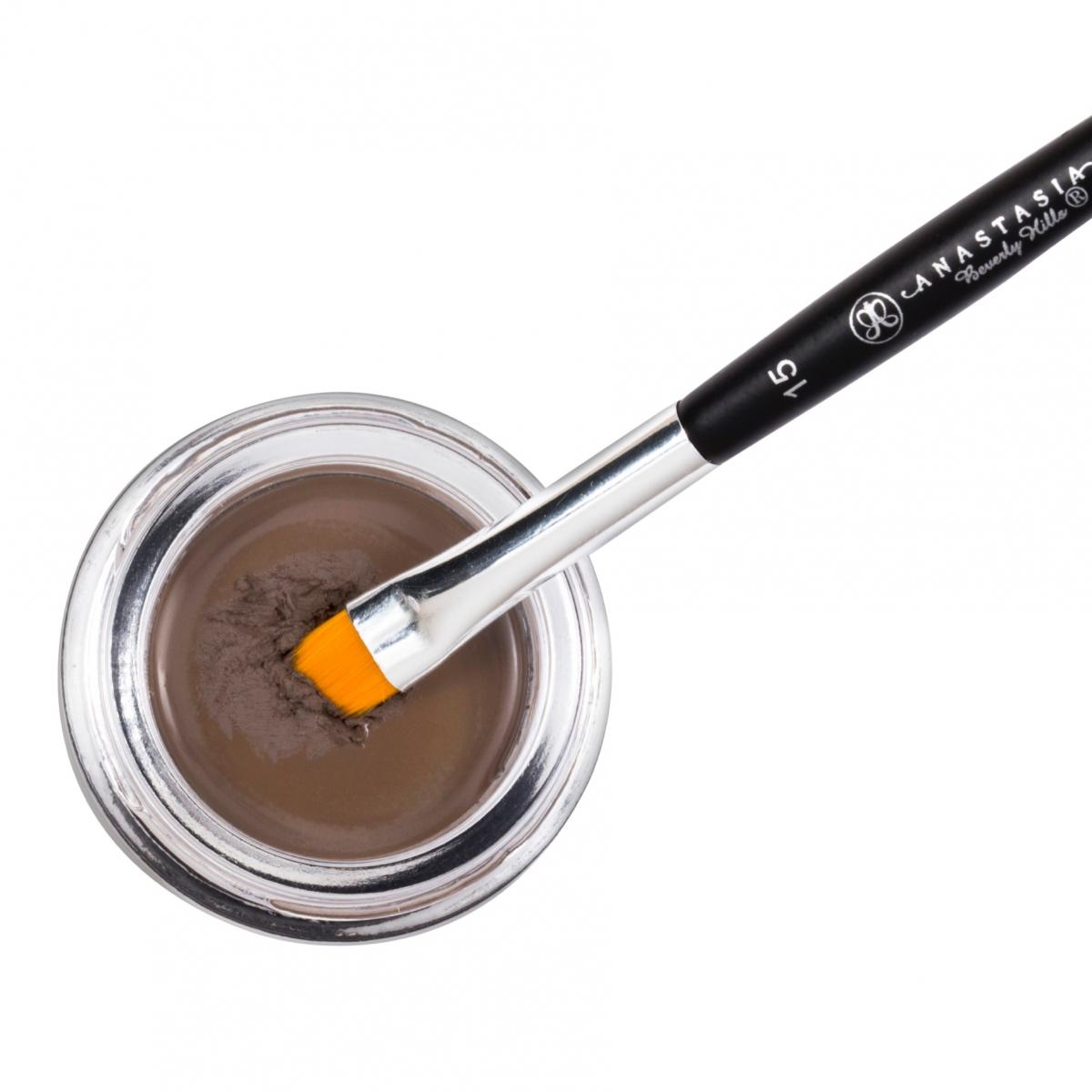 Водостойкая помада для бровей Anastasia Beverly Hills. DIPBROW® Pomade Color Medium Brown