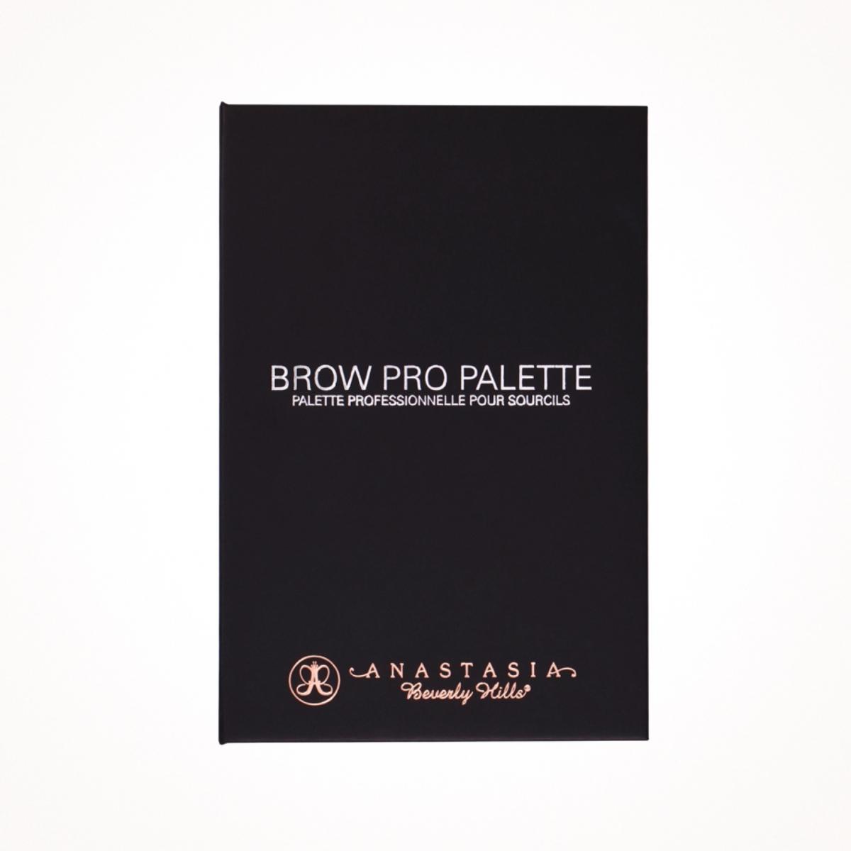 Палитра для бровей Anastasia Beverly Hills.Brow Pro Palette. Палитра теней для профессиональных визажистов