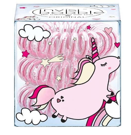 Резинка-браслет для волос invisibobble ORIGINAL Unicorn Elly