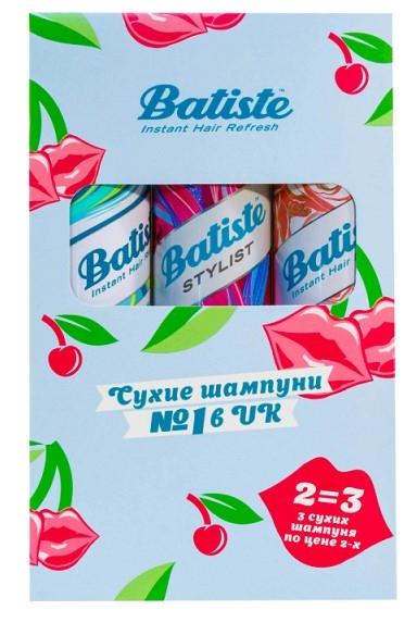 Набор Batiste XXL Volume spray 200 мл + Original 200 мл + Rose Gold 200 мл