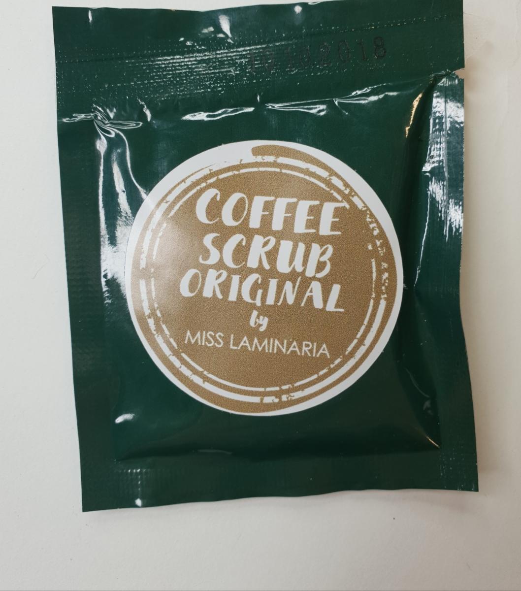 Тестер скраб Laminaria Shop кофейный 30 гр