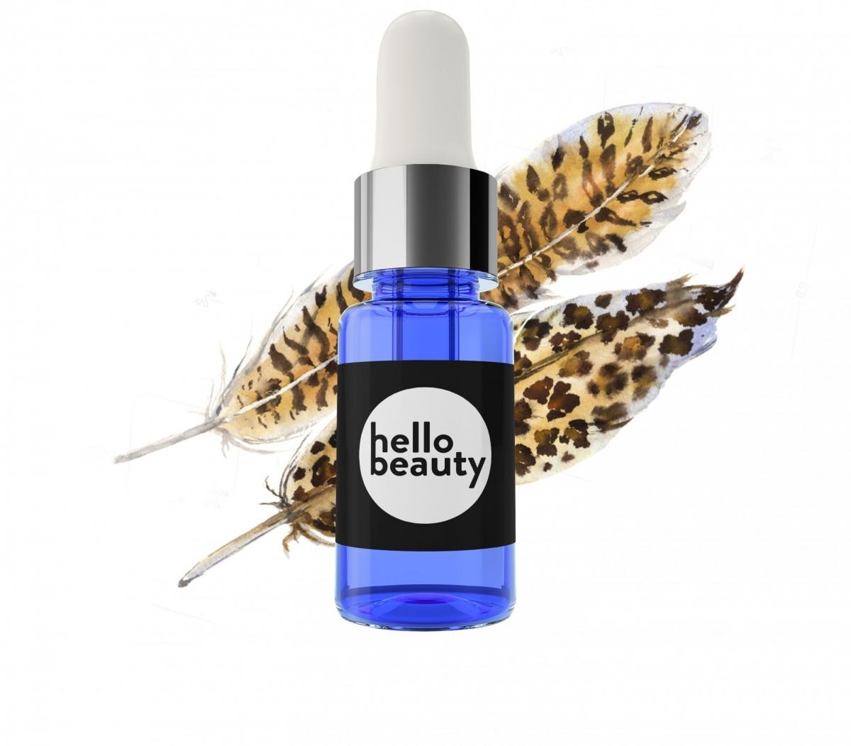 Антивозрастная сыворотка Hello Beauty 18+ с омолаживающими экстрактами растений, 10 мл