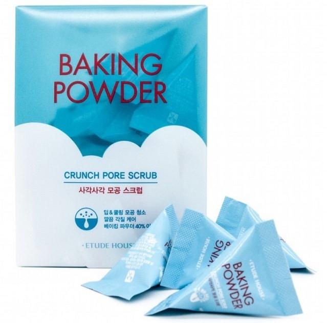 Скраб для лица с содой Etude House Baking Powder Crunch Pore Scrub 24шт * 7гр