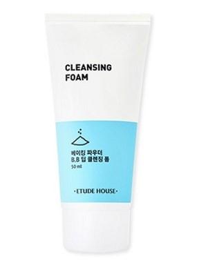 Очищающая пенка для умывания с частичками соды Etude House Cleansing Foam 50 мл