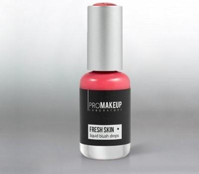 Эмульсионные румяна PROMAKEUP laboratory FRESH SKIN liquid blush drops 02 персиковый / peach