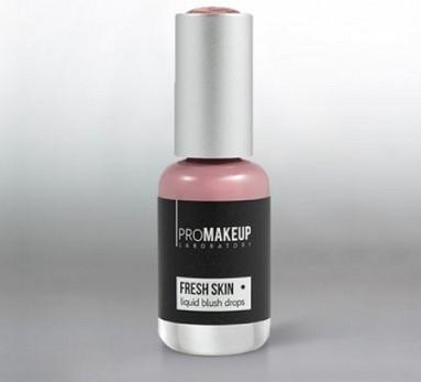 Эмульсионные румяна PROMAKEUP laboratory FRESH SKIN liquid blush drops 01 бледно-розовый / pale pink