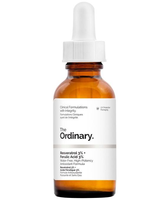 Сыворотка The Ordinary Resveratrol 3% + Ferulic Acid 3%