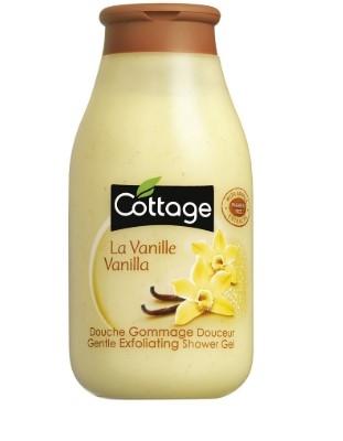 Гель для душа Cottage отшелушивающий Ваниль 250мл