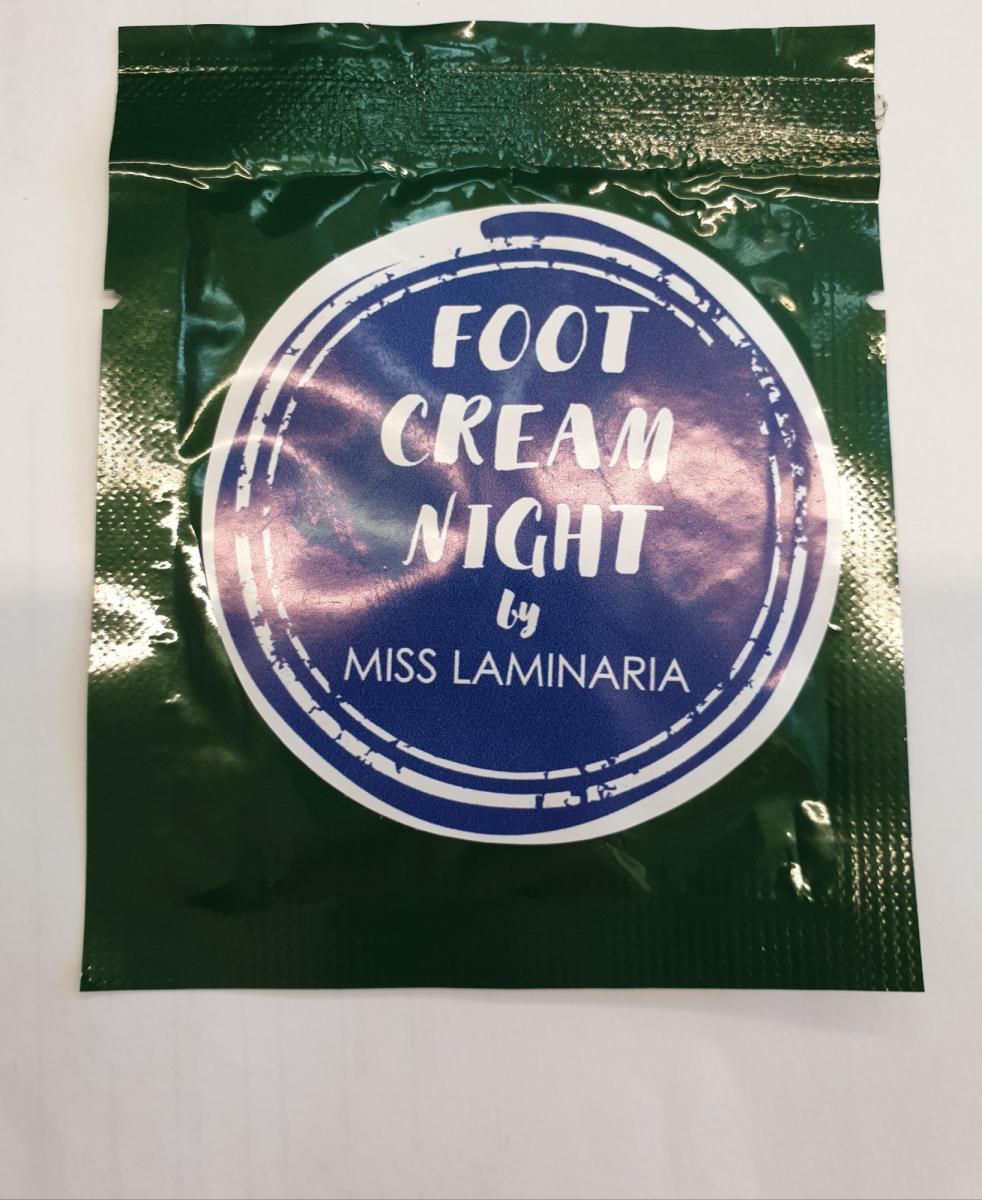 Тестер крем- маска для ног Laminaria Shop ночной 15 мл