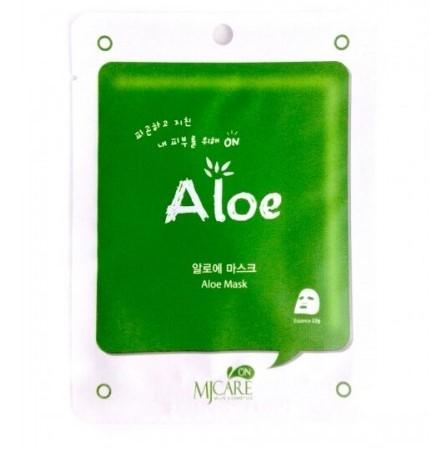 Тканевая маска для лица Mijin Care Mask Aloe (алоэ) (25 гр)