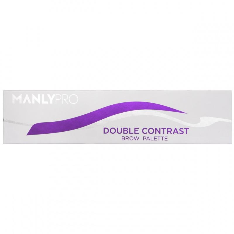 Палитра теней для бровей 10 оттенков Manly PRO П74