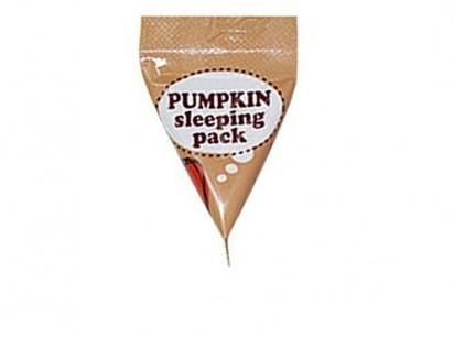 Ночная маска с тыквой и керамидами Too Cool For School Pumpkin Sleeping Pack Sample 2мл