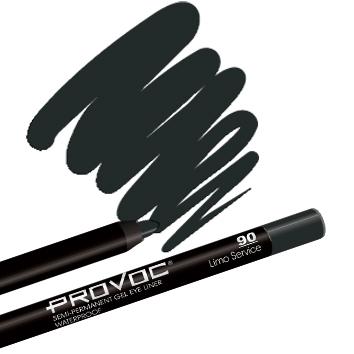 Provoc Gel Eye Liner 90 Limo Service Гелевая подводка в карандаше для глаз (цв. черный)