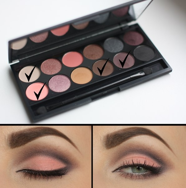 Тени для век в палетке Sleek MakeUp Eyeshadow Palette I-Divine Oh So Special 658