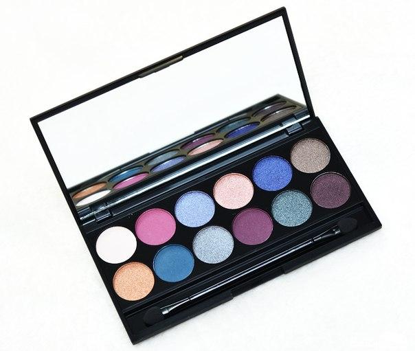 Тени для век в палетке Sleek MakeUp Eyeshadow Palette I-Divine Enchanted Forest 098