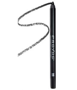 Provoc Gel Eye Liner 98 Mischevious Гелевая подводка в карандаше для глаз (угольно-черн гологр)
