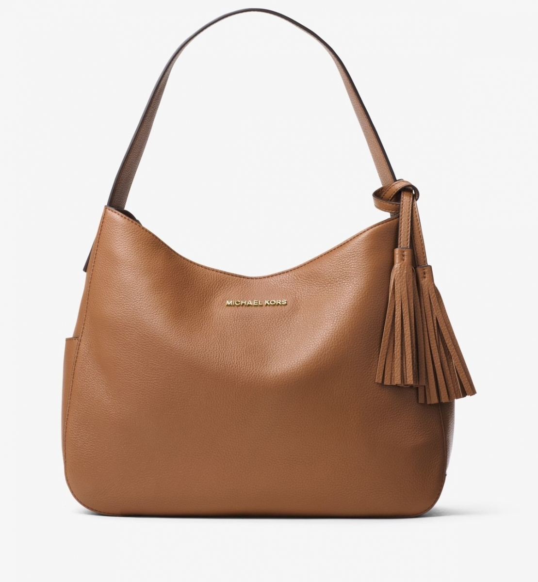 Сумка Michael Kors Ashbury Large Leather Shoulder Bag Acorn
