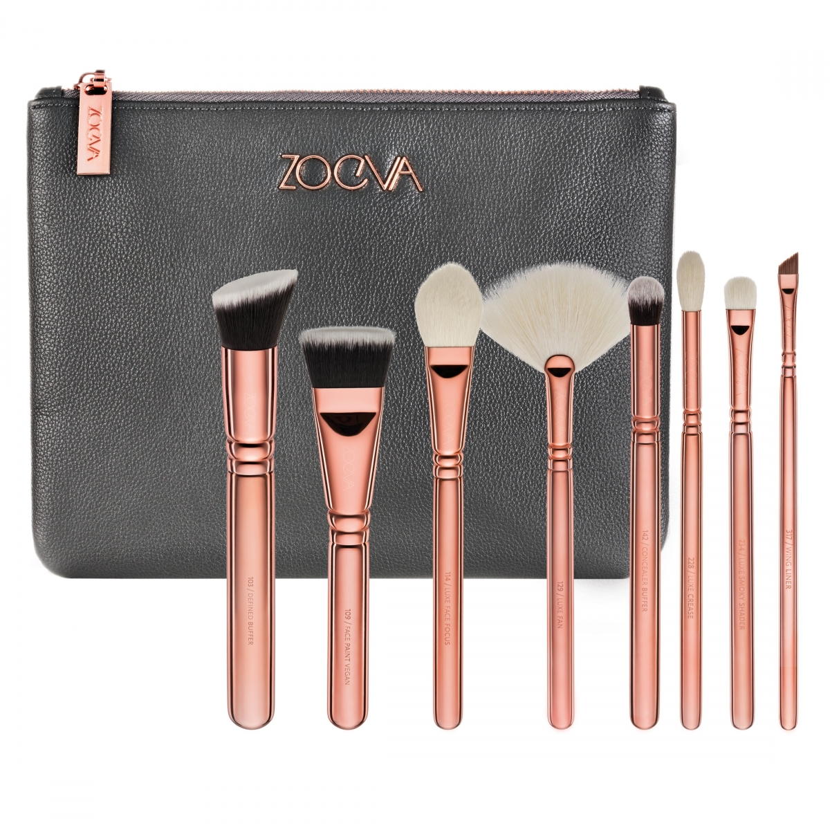 Набор кистей Zoeva Rose Golden Luxury Set Vol.3