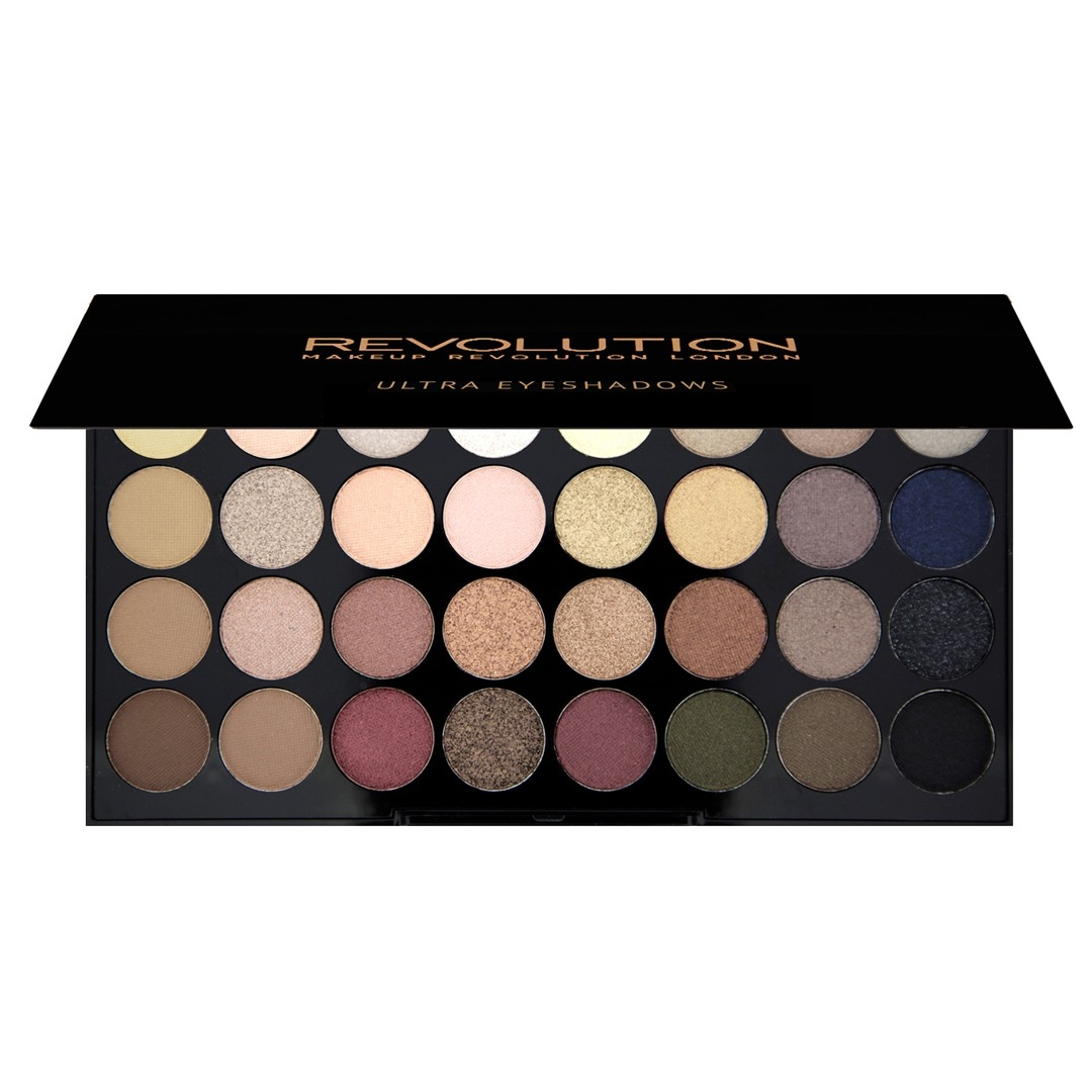 Набор из 32 оттенков теней 32 eyeshadow palette Flawless