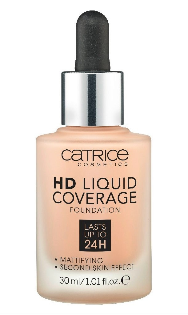 Основа тональная Catrice HD Liquid coverage foundation 020 Rose Beige
