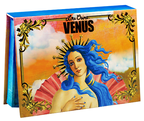 Палитра теней Lime Crime Venus: The Grunge Palette