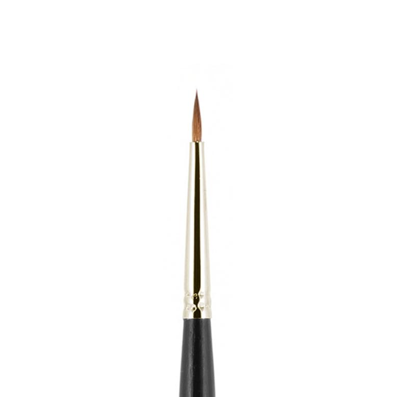1М-1130-2  Кисть из колонка №1-2 круглая (7 мм) Валери-Д