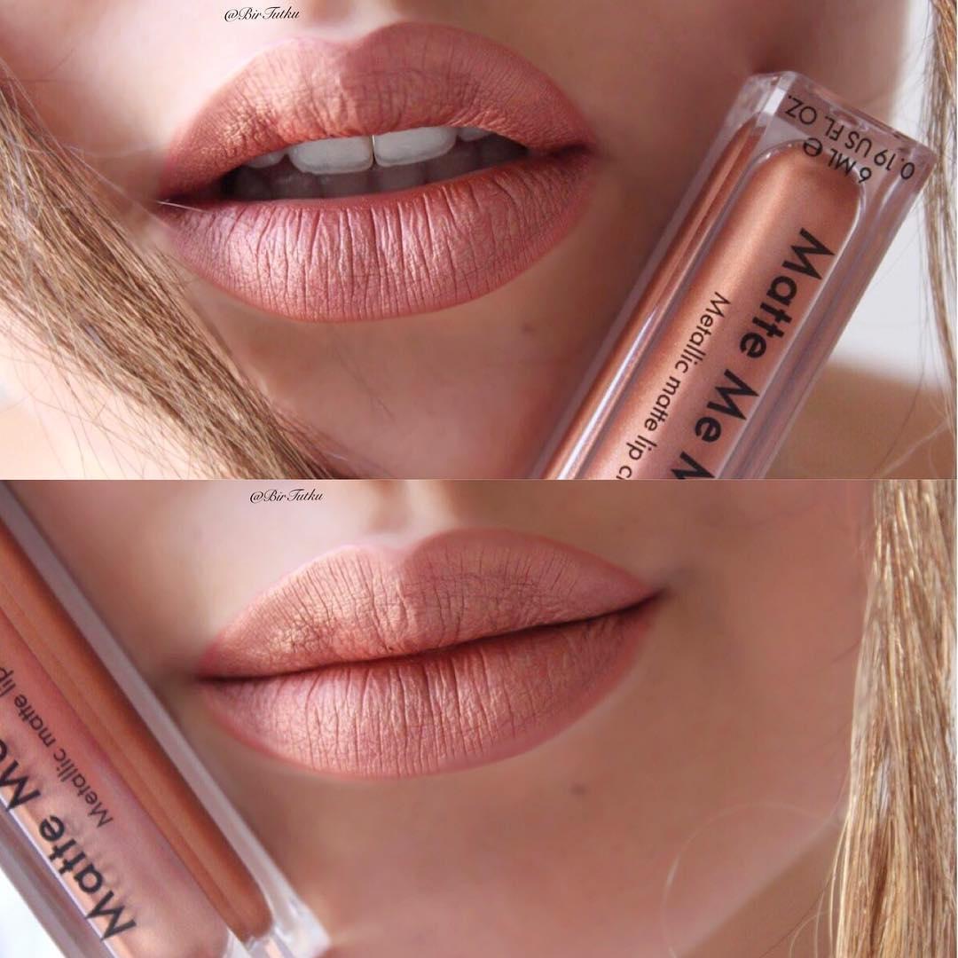 Коллекция Sleek MakeUp Disorted dreams Блеск для губ Matte me metallic Roman Copper 1044
