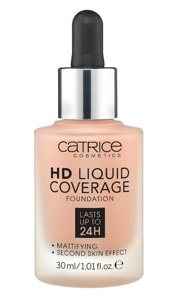 Основа тональная Catrice HD Liquid coverage foundation 040 Warm Beige