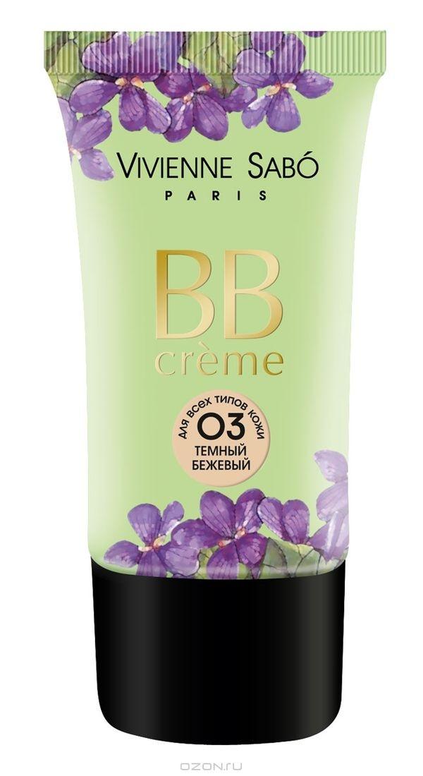ВВ Крем 3 да 3 нет Vivienne Sabo/ BB Cream 3 yes 3 no / BB creme Trois Oui Trois Non тон/shade 03 25 мл.