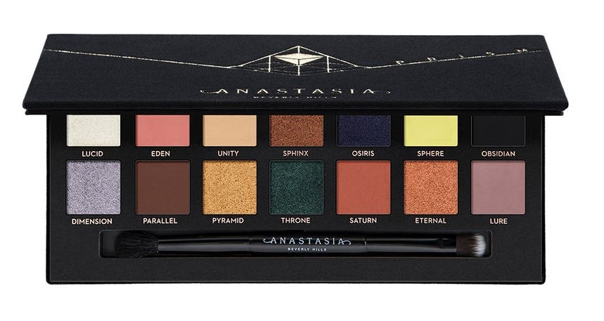 Тени для век в палитре  Anastasia Beverly Hills. PRISM Eye Shadow Palette
