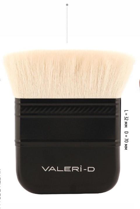 70М-821ФЛ Кисть из волоса козы №70 ровная флейц Валери-Д