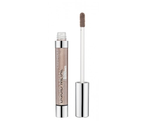 Тени для век кремовые Catrice Liquid Metal Longlasting cream eyeshadow 040 Brown Under тауповый