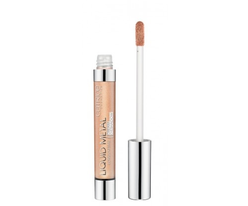 Тени для век кремовые Catrice Liquid Metal Longlasting cream eyeshadow 020 Champagne Shower шампань