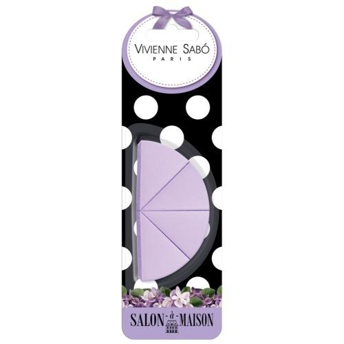 Набор треугольных спонжей для макияжа (4 шт.) Vivienne Sabo Triangular makeup sponges set