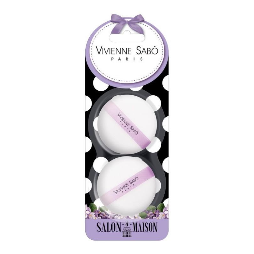 Набор велюровых спонжей для макияжа (2 шт.) Vivienne Sabo Velour makeup sponges set