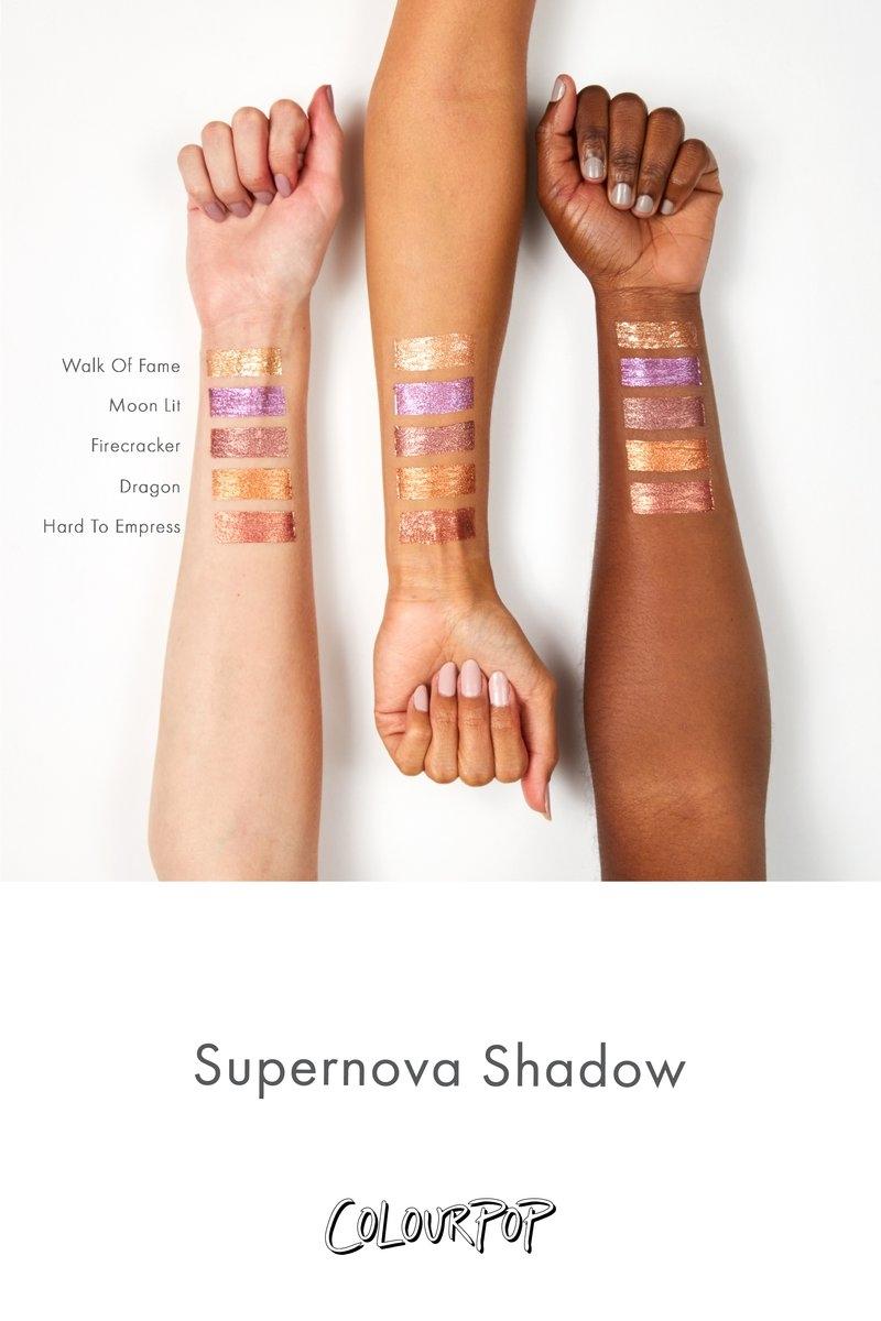 Walk Of Fame кремовые тени ColourPop Supernova Shadow