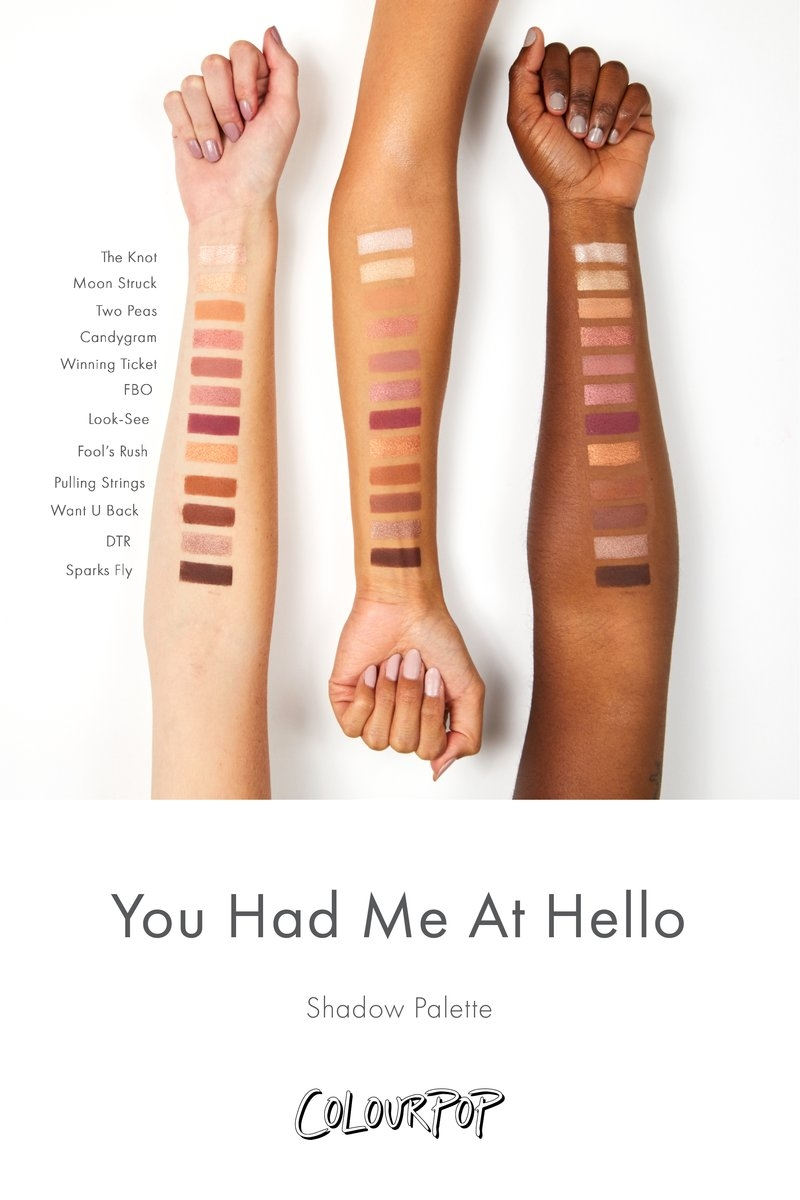 You Had Me At Hello Палитра теней ColourPop