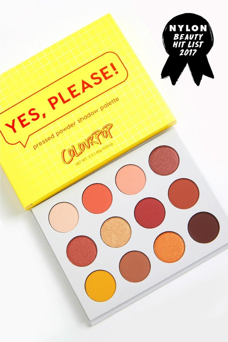 Yes, Please! Палитра теней ColourPop